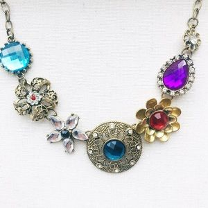 NWOT Colorful Vintage Necklace